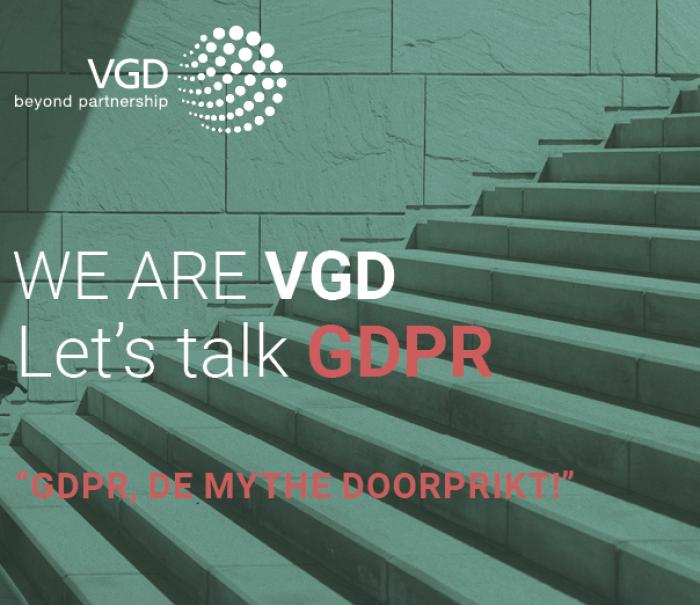 "Let's Talk GDPR - Infosession ""GDPR, Breaking The Myth!"""