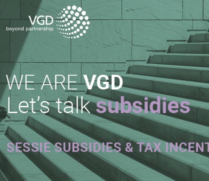 Let's Talk Subsidies - Infosession Subsidies and Tax Incentives