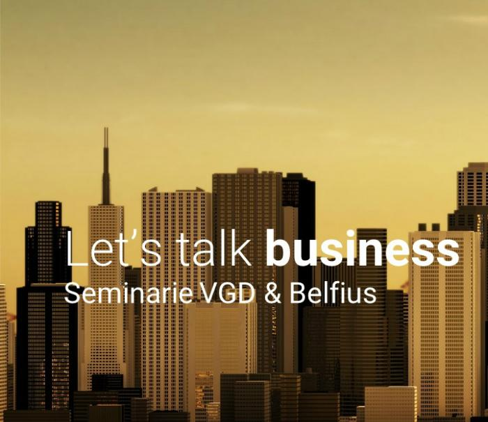 Lets talk business VGD & Belfius