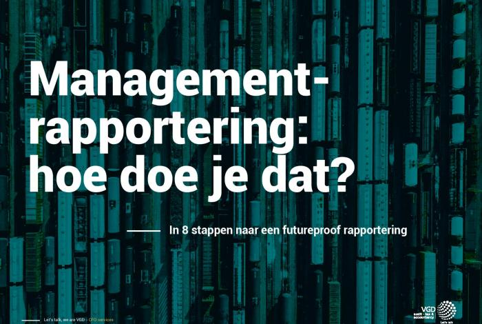 managementrapportering - hoe begin je eraan?